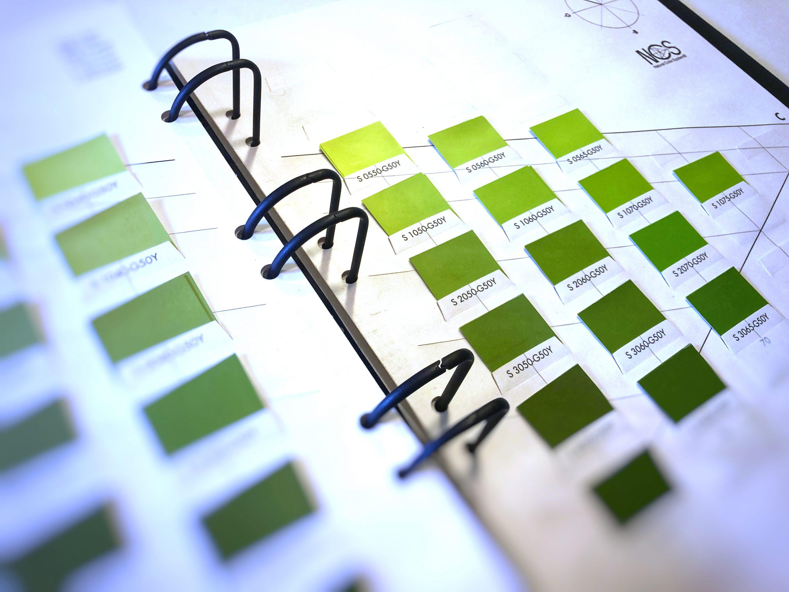 Farbdesign. Farbkonzepte. NCS System.