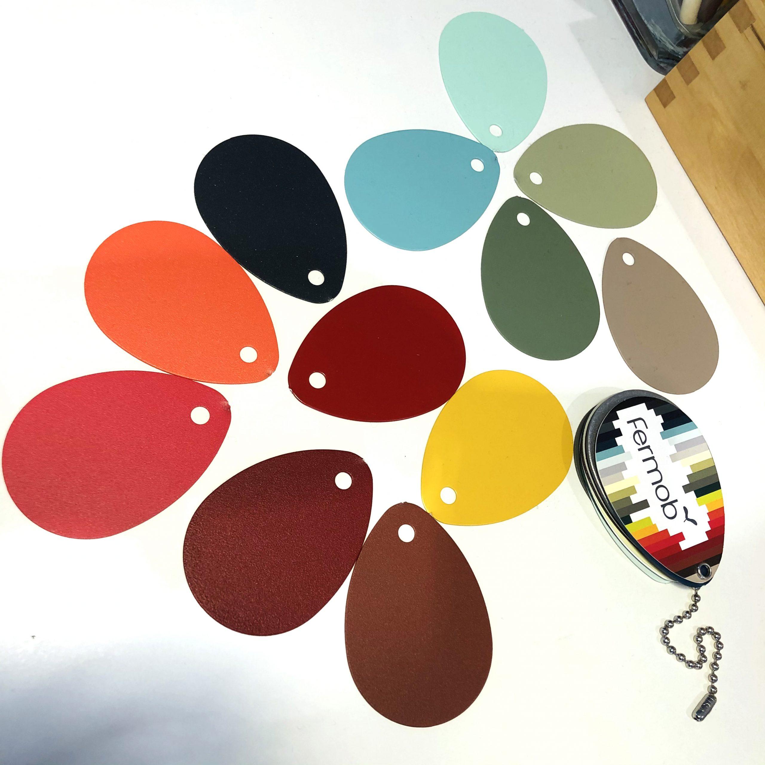 Farbdesign. Mit Kollektionen arbeiten.